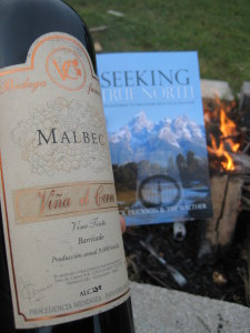 Wine... Book... Fire!