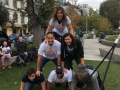 Human Pyramid in San Francisco