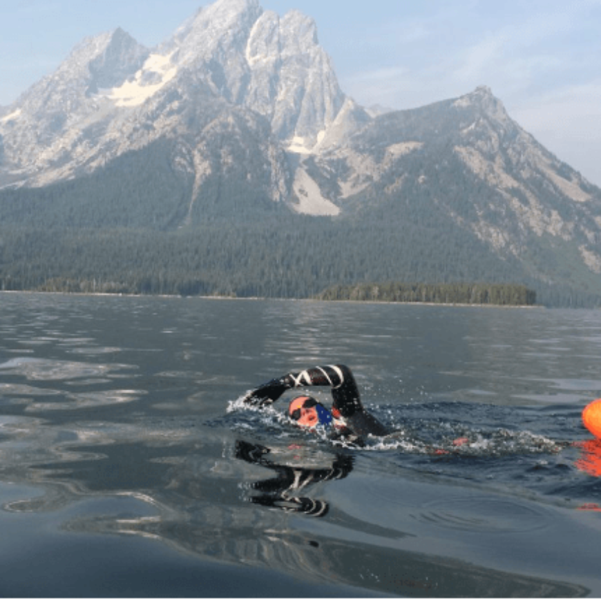 2020 Grand Teton Lake to Lake Link – The Adventure of Swimming 7 Grand Teton Lakes