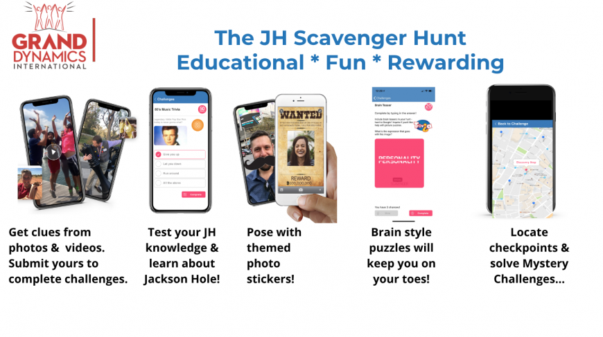 Jackson Town Council Approves new Grand Dynamics Special Event – The JH Scavenger Hunt